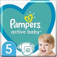 Духи, Парфюмерия, косметика Подгузники Pampers Active Baby 5 (11-16 кг), 60шт - Pampers