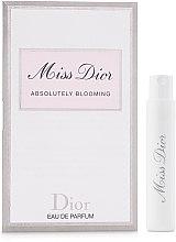 Духи, Парфюмерия, косметика Dior Miss Dior Absolutely Blooming - Парфюмированная вода (пробник)