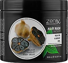 Духи, Парфюмерия, косметика Маска для волос с экстрактом черного чеснока - Zenix Black Garlic Oil Hair Mask