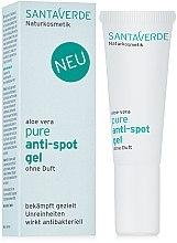 Духи, Парфюмерия, косметика Гель для лица против пигментации с алоэ вера - Santa Verde Aloe Vera Pure Anti-Spot Gel