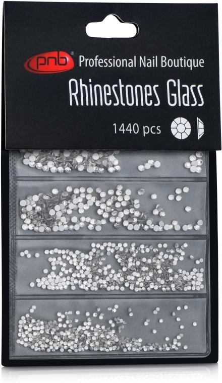 Стразы для ногтей - PNB Cryatal Mix SS2,3,6,8,10,12 Glass