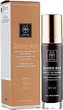 Духи, Парфюмерия, косметика Дневной крем для лица с греческим маточным молочком в липосомах SPF 20 - Apivita Queen Bee Holistic Age Defense Day Cream