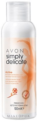 Освежающее очищающее средство для интимной гигиены с соком алоэ и экстрактом ромашки - Avon — фото 300ml