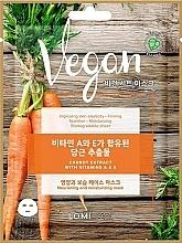 Духи, Парфюмерия, косметика Маска для лица с экстрактом моркови - Lomi Lomi Vegan Mask