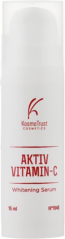 Отбеливающая сыворотка - KosmoTrust Aktiv Vitamin-С Whitening Serum