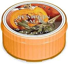 Духи, Парфюмерия, косметика Чайная свеча - Kringle Candle Pumpkin Sage Daylight