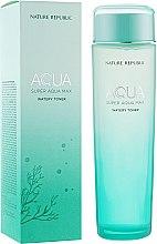 Духи, Парфюмерия, косметика Увлажняющий тонер с морской водой - Nature Republic Super Aqua Max Watery Toner