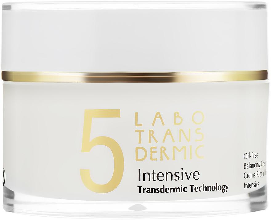 Крем для восстановления баланса кожи - Labo Transdermic 5 Intensive Oil-Free Balancing Cream