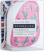 Духи, Парфюмерия, косметика Компактная расческа для волос - Tangle Teezer Compact Styler Cacti Cool
