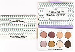 Духи, Парфюмерия, косметика Палетка теней для век - TheBalm Sustainably Gorgeous 8-well Eyeshadow Palette