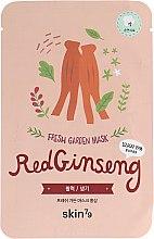 Духи, Парфюмерия, косметика Тканевая маска с красным женьшенем - Skin79 Fresh Garden Mask Red Ginseng