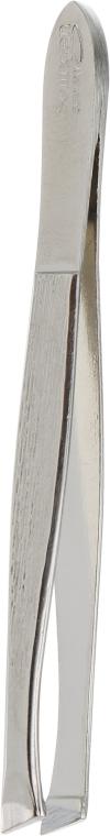 Пинцет для бровей с загнутыми краями 06-0530 - Niegelon Solingen