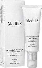 Духи, Парфюмерия, косметика Безмасляная антиоксидантная сыворотка - Medik8 Breakout Defence + Age Repair