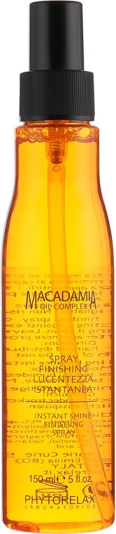 """Спрей для волос """"Мгновенный блеск"""" - Phytorelax Macadamia Oil Complex Spray"""