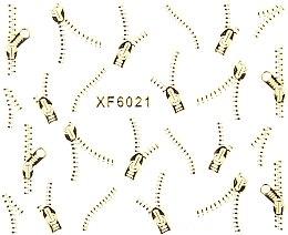 Духи, Парфюмерия, косметика Водные наклейки для ногтей XF - Vizavi Professional