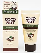 Духи, Парфюмерия, косметика Увлажняющий крем для лица и тела с кокосовым маслом - Scinic Coconut Moist Cream