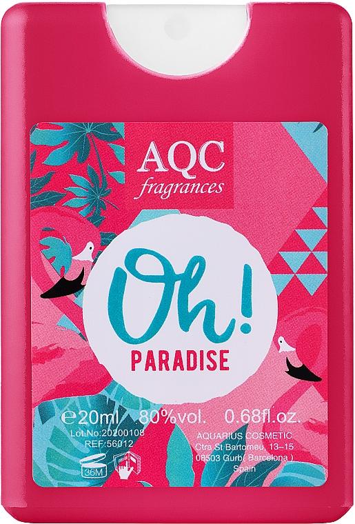 AQC Fragrances Oh Paradise - Парфюмированная вода