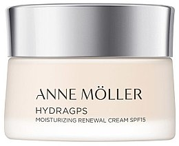 Духи, Парфюмерия, косметика Крем для лица - Anne Moller HydraGPS Moisturizing Renewal Cream SPF15