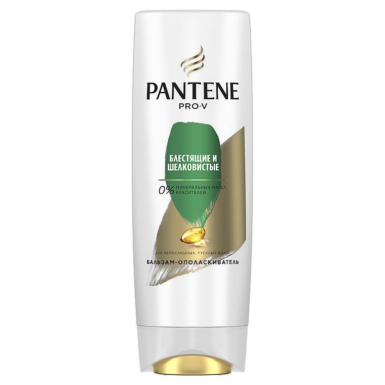 """Бальзам-ополаскиватель для волос """"Блестящие и шелковистые"""" - Pantene Pro-V Smooth and Sleek Balsam-Conditioner"""