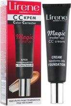"СС-крем ""Волшебный макияж"" - Lirene CC-Cream Magic Make-Up — фото N2"