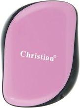 """Расческа для волос с технологией Тангл Тизер """"Compact Style"""", светло-розовая - Christian — фото N2"""