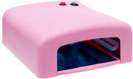 Парфумерія, косметика Лампа для гель-лаків і гелю, рожева - Avenir Cosmetics