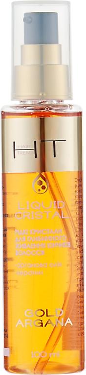 Жидкие кристалы для кончиков волос - Hair Trend Gold Argana Cristal