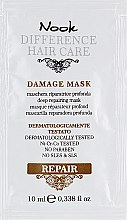 "Духи, Парфюмерия, косметика Маска ""Глубокое восстановление"" - Nook DHC Repair Damage Mask (пробник)"