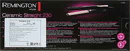 Выпрямитель для волос - Remington S1005 Ceramic 230 Straightener — фото N4