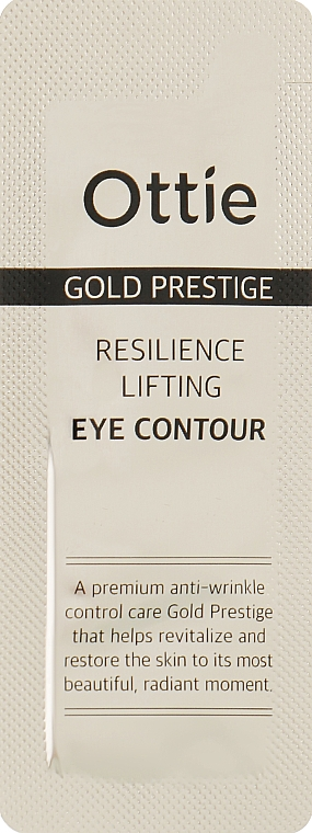 Крем для кожи вокруг глаз - Ottie Gold Prestige Resilience Lifting Eye Contour (пробник)