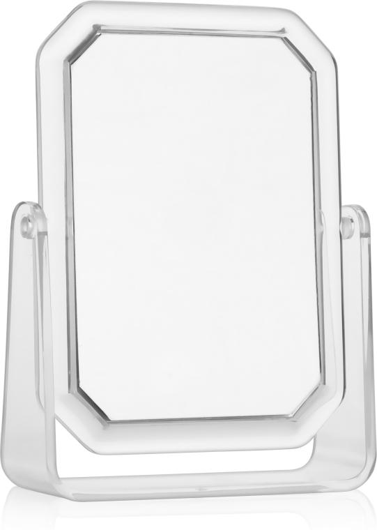 Двухстороннее прямоугольное косметическое зеркало, 19.5х14.5 см - Titania