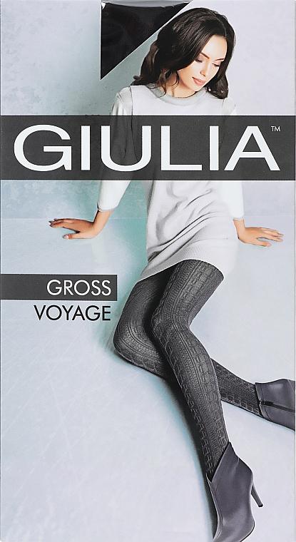 """Колготки для женщин """"Gross Voyage. Model 1"""" 200 Den, nero - Giulia"""