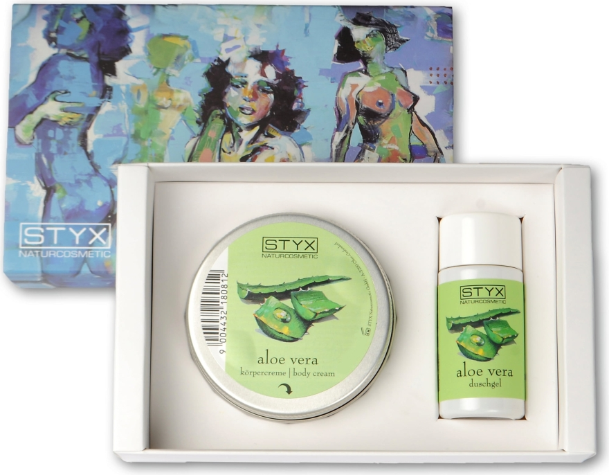 Набор - Styx Naturcosmetic Aloe Vera (sh/gel/30ml + cr/50ml)