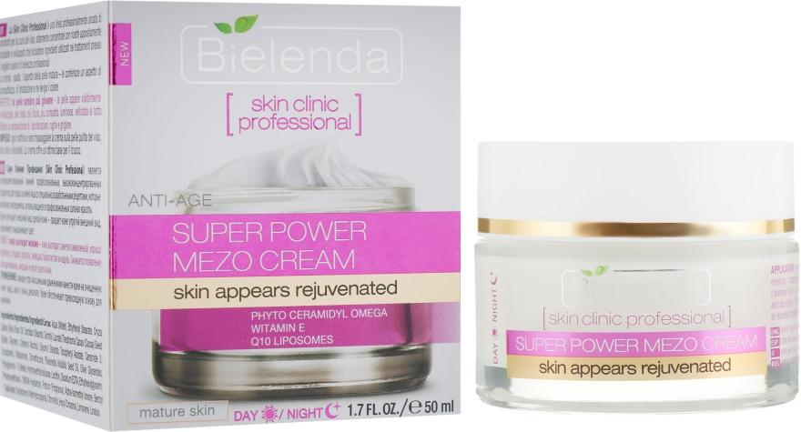Активный омолаживающий крем день/ночь - Bielenda Skin Clinic Professional Mezo Anti-age  — фото N1