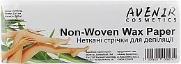 Духи, Парфюмерия, косметика Полоски для депиляции - Avenir Cosmetics Non-Woven Wax Paper