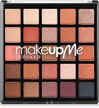 Духи, Парфюмерия, косметика Профессиональная палитра теней 25 оттенков, Р25 - Make Up Me