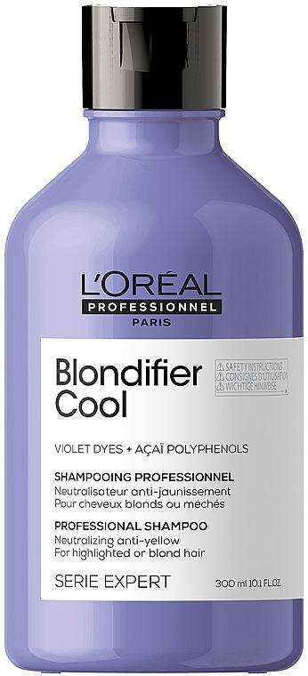 Шампунь для нейтрализации нежелательной желтизны волос - L'Oreal Professionnel Serie Expert Blondifier Cool Shampoo