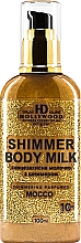 Духи, Парфюмерия, косметика Молочко с шиммером для тела - HD Hollywood Shimmer Body Milk Mocco SPF 10
