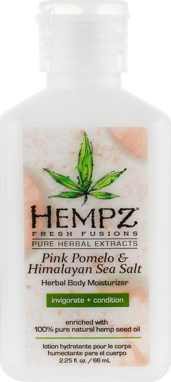 """Молочко увлажняющее для тела """"Помело и гималайская соль"""" - Hempz Pink Pomelo & Himalayan Sea Salt Herbal Body Moisturizer"""