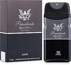 Духи, Парфюмерия, косметика Emper Presidente - Туалетная вода (Мини)