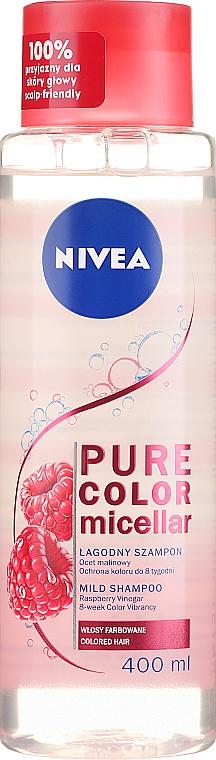 Мицеллярный шампунь для окрашенных волос - Nivea Pure Color Micellar Shampoo