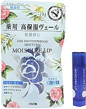 Духи, Парфюмерия, косметика Помада-бальзам для губ суперувлажняющая - Omi Brotherhood Moiscube Lip Clear