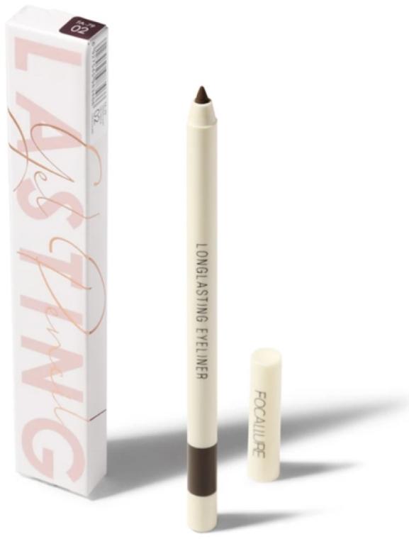 Гелевая подводка для глаз - Focallure Lasting Soft Gel Pencil
