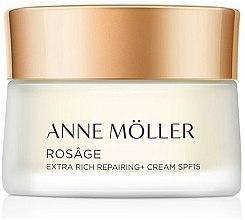 Духи, Парфюмерия, косметика Крем для лица - Anne Moller Rosage Extra-Rich Repairing Cream SPF15