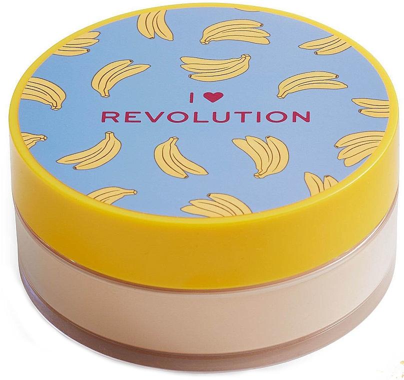 Рассыпчатая пудра для лица банановая - I Heart Revolution Loose Baking Powder Banana