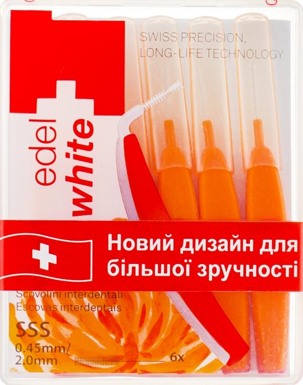 """Щётки """"Profi-Line"""" для межзубных промежутков SSS - Edel+White Dental Space Brushes SSS"""