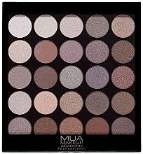 Духи, Парфюмерия, косметика Палетка теней для век - MUA 25 Shade Eyeshadow Palette