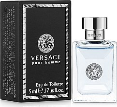Парфумерія, косметика Versace Versace pour Homme - Туалетна вода (міні)