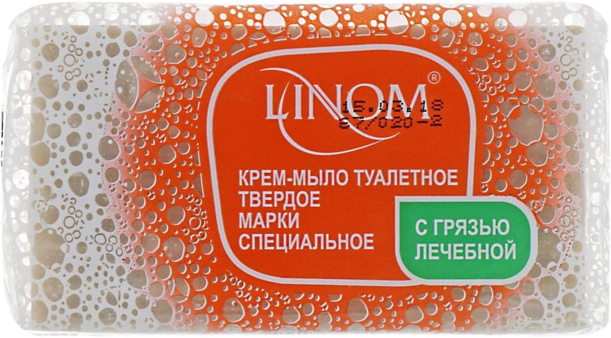 """Крем-мыло туалетное Специальное """"С грязью лечебной"""" - Linom"""