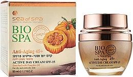 Духи, Парфюмерия, косметика Антивозрастной дневной крем с тыквенным маслом - Sea of Spa Bio Spa Anti-Aging 45+ Active Day Cream